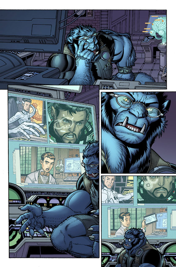 Wolverine and the X-Men # 19 Wolver28