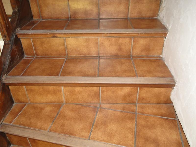 RECOUVRIR UN ESCALIER EN CARRELAGE - Carrelage d'escalier
