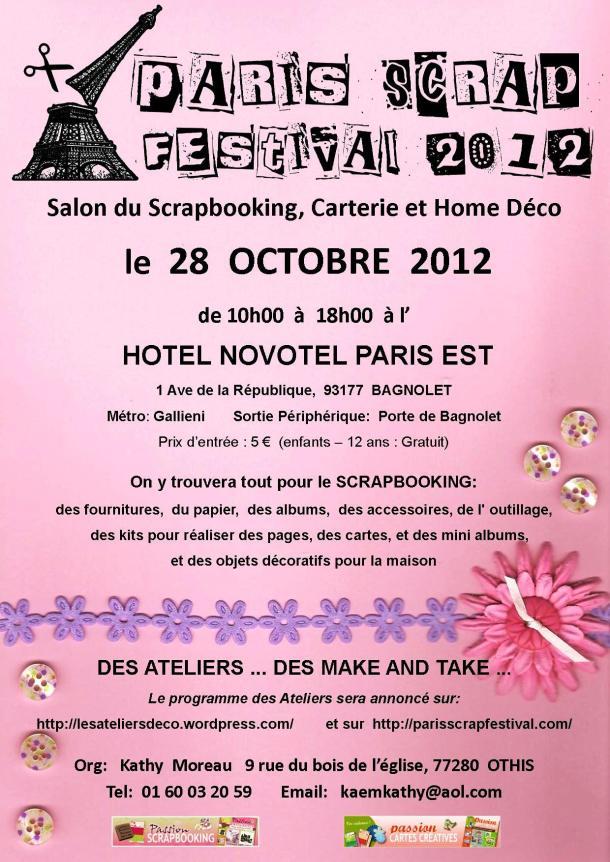 PARIS SCRAP FESTIVAL 2012 Affich10