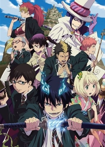 Ao no exorcist ou blue exorcist,  Ao_no_10