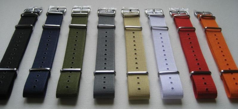 [Vends] [Paris] Bracelets nylon NATO neufs, qualité garantie - 12€ 1_unis10