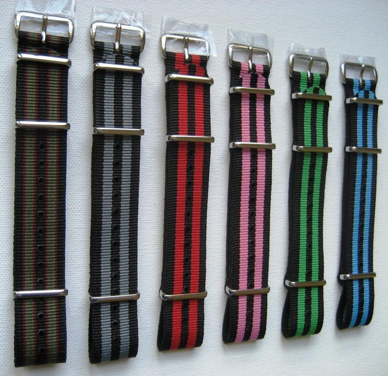 [Vends] [Paris] Bracelets nylon NATO neufs, qualité garantie - 12€ 2_bond10