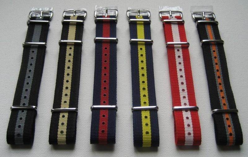 [Vends] [Paris] Bracelets nylon NATO neufs, qualité garantie - 12€ 3_raya10