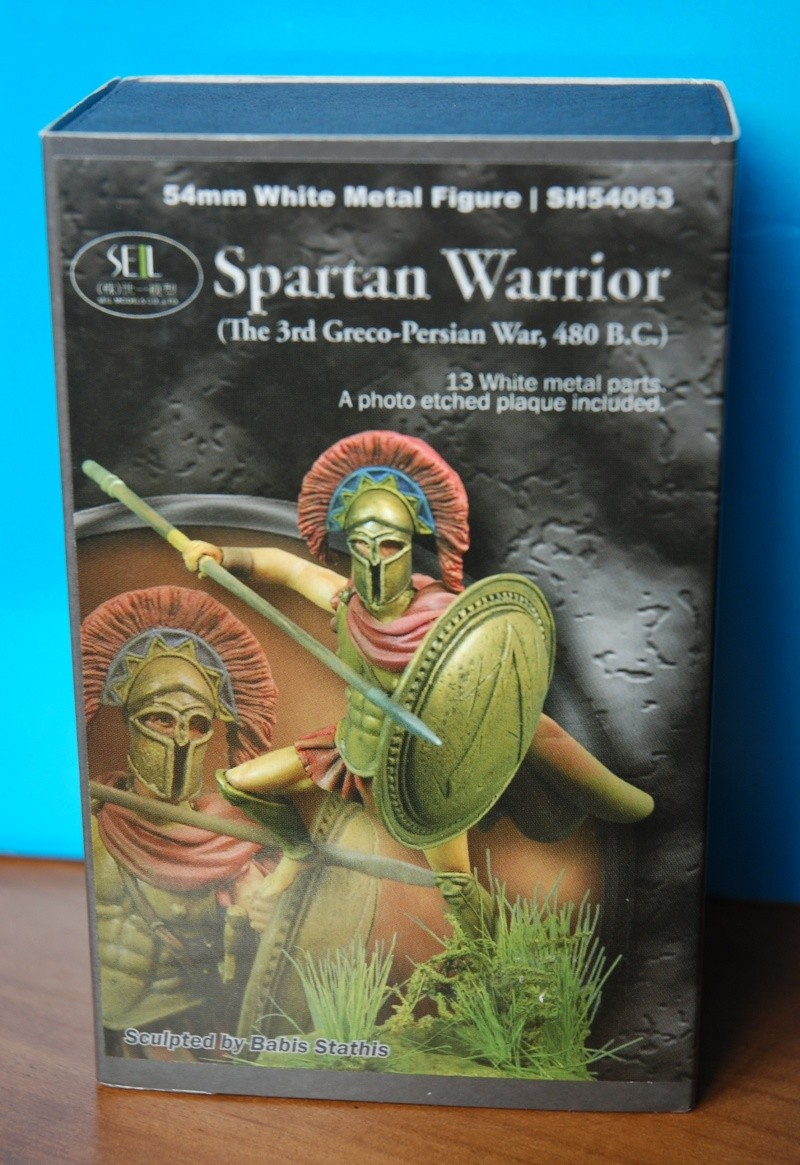 Spartan Warrior 54mm SEILMODEL Forum213