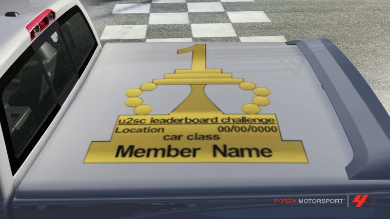 Leaderboard Challenge Vinyls - Vote Ufouif12