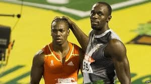 Usain Bolt or Y Blake. Who will win the Olympic 100m & 200m? Usain_11