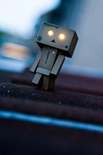 """Comerciales en Stopmotion con el robot de cartón """"Danbo"""" Danbo-10"""