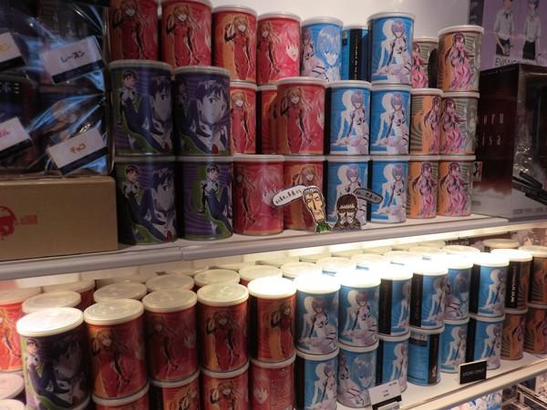 """Una mirada a la """"Evangelion Store Tokyo-01″ – Parte 2 Evange45"""