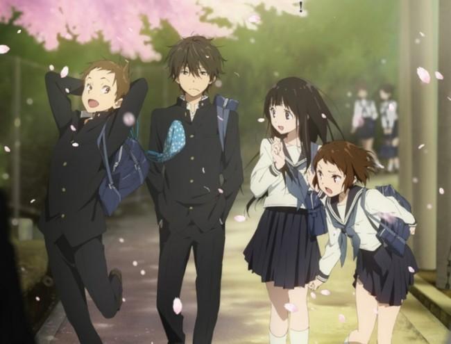 """El cast principal de K-ON! se une al Anime """"Hyouka"""" Hyouka10"""
