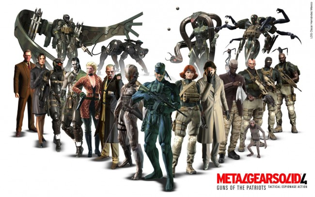 "Reseña Videojuegos: Saga ""Metal Gear Solid"" por Otoha Mgs4-610"