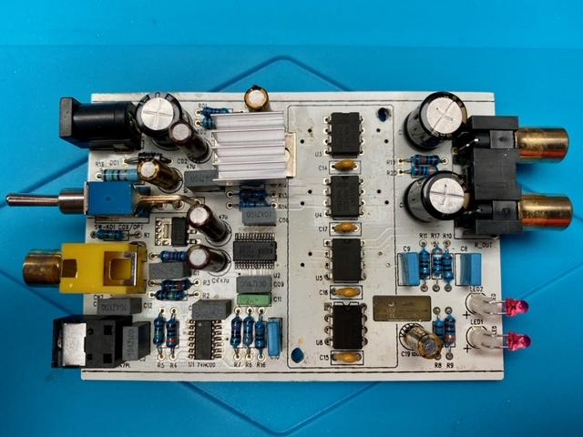 Avis pour amélioration Dac Muse TDA1543x4 Dac-0210