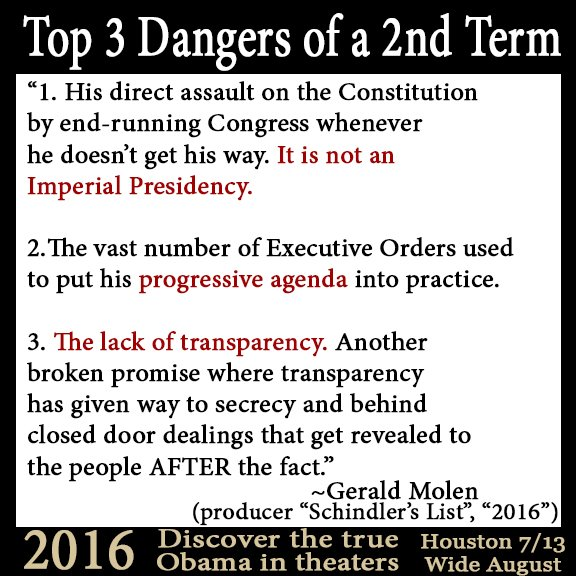 The Top 3 dangers of a 2nd term(Obama) Danger10