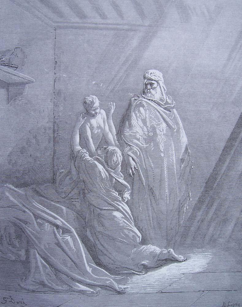 La Bible illustrée par Gustave Doré - Page 4 Gravu100
