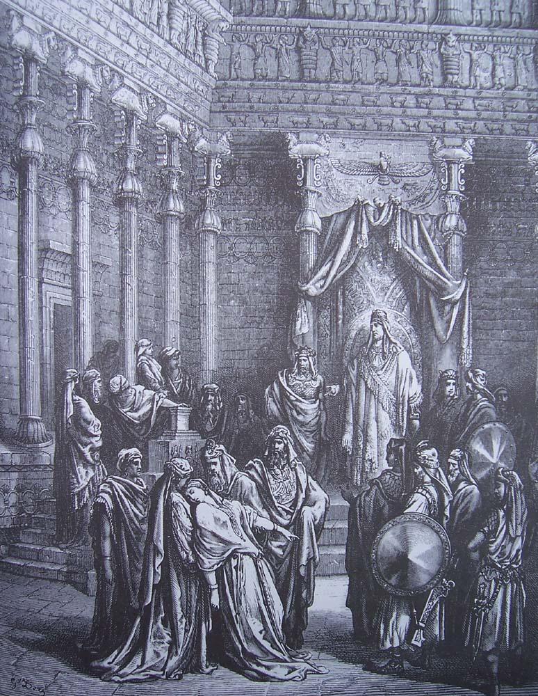 La Bible illustrée par Gustave Doré - Page 5 Gravu129