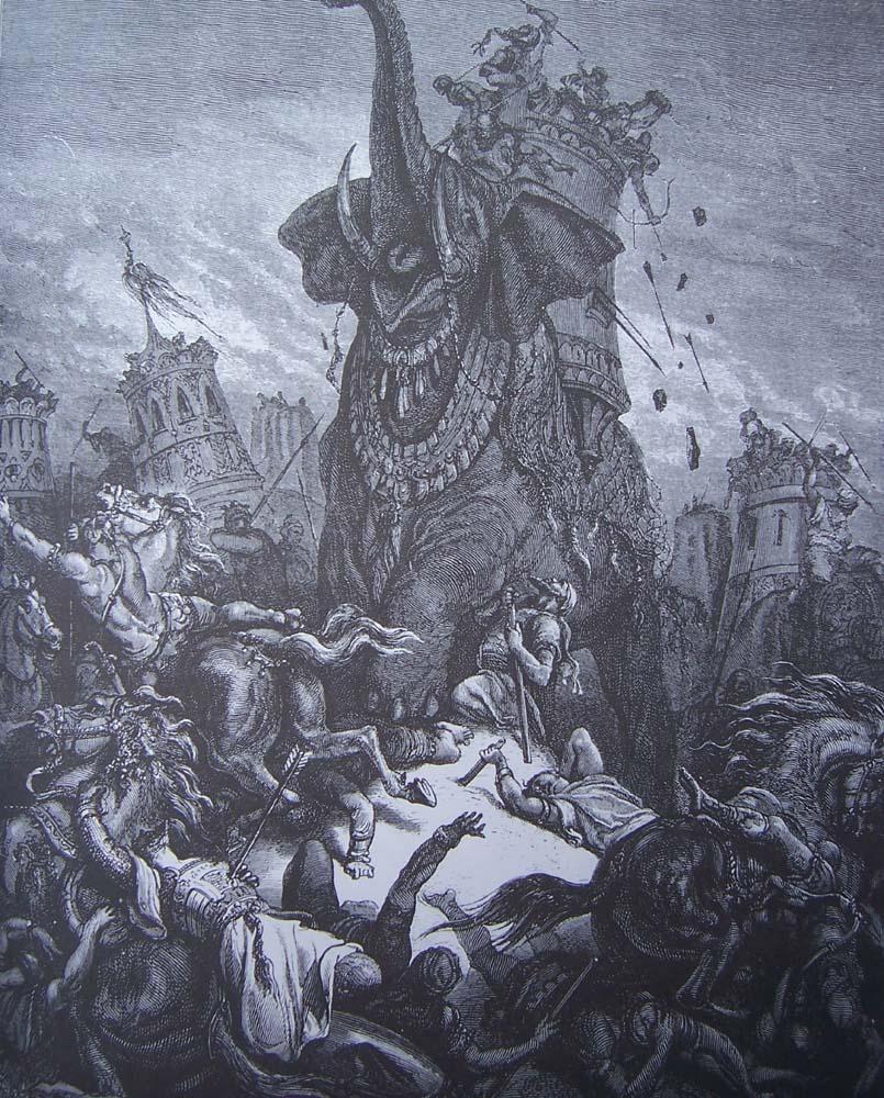 La Bible illustrée par Gustave Doré - Page 6 Gravu153