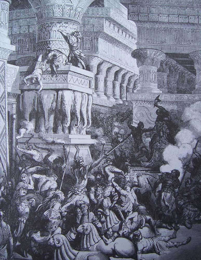 La Bible illustrée par Gustave Doré - Page 6 Gravu154