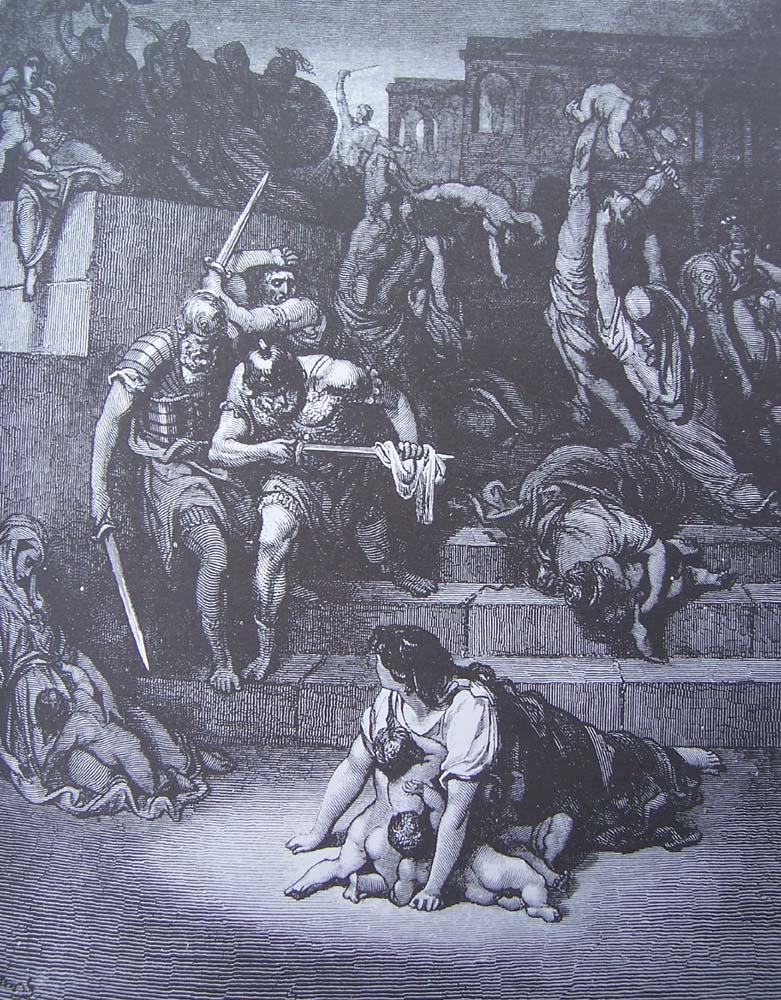 La Bible illustrée par Gustave Doré - Page 7 Gravu166