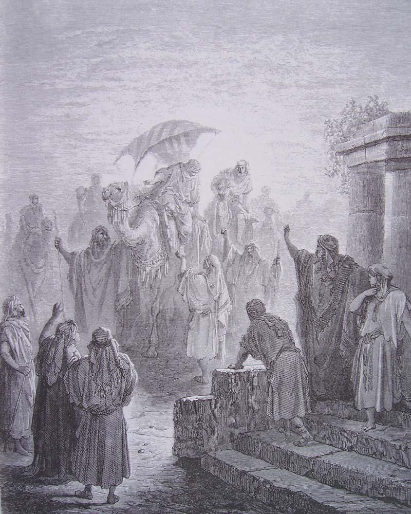 La Bible illustrée par Gustave Doré Gravur28