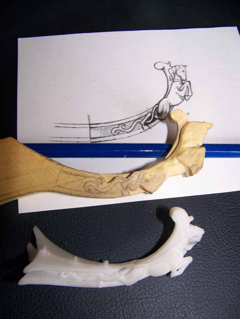 La Licorne ex-kit remaniée en scratch 1:72 fascicules Hachette - Page 5 Licorn10