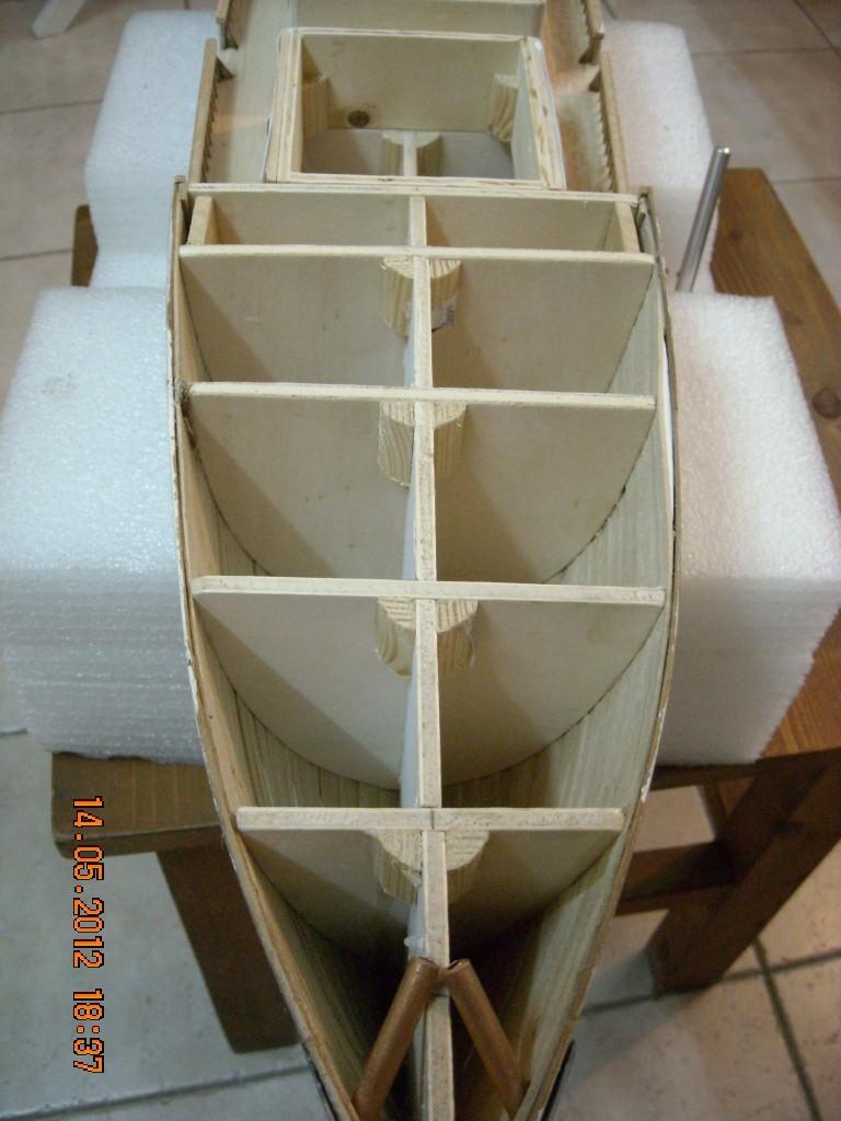 piani  -scr - la Calypso di cousteau autocostruita su piani museo della marina parigi Immagi12