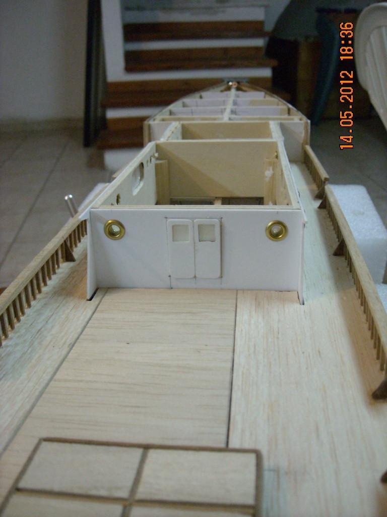 piani  -scr - la Calypso di cousteau autocostruita su piani museo della marina parigi Immagi14