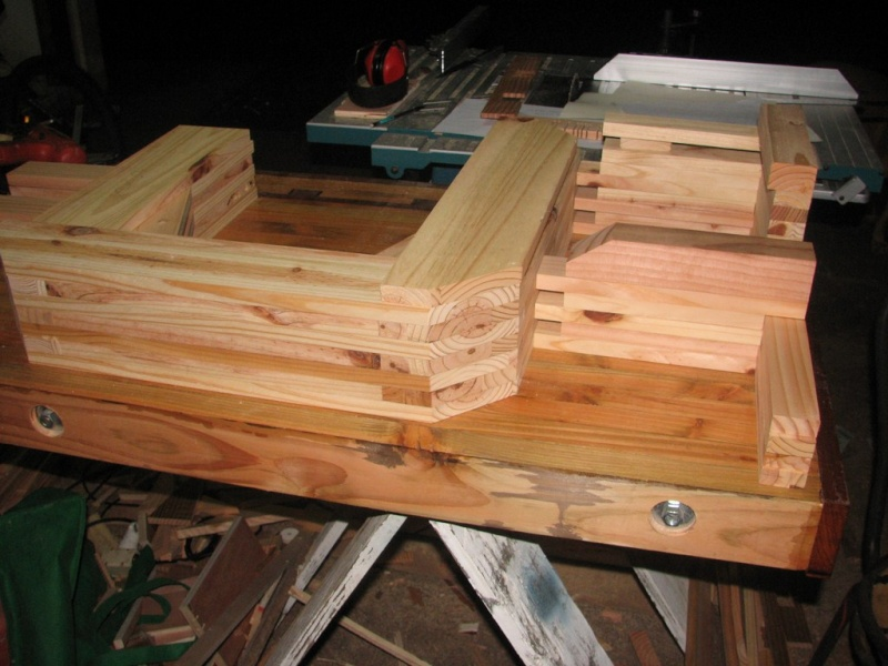 fabrication d'une Scie à ruban en bois Img_3712