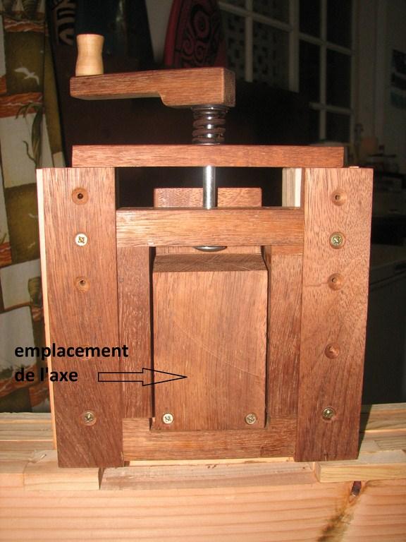fabrication d'une Scie à ruban en bois Img_3719
