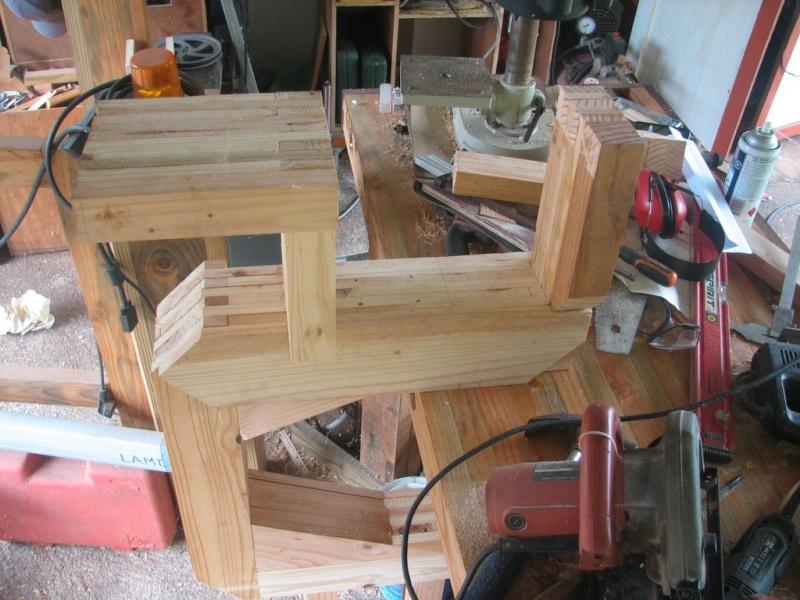 fabrication d'une Scie à ruban en bois Img_3811