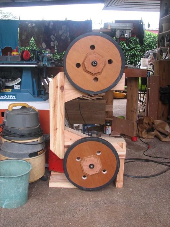 fabrication d'une Scie à ruban en bois Img_3814