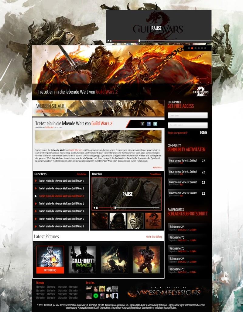 Design site GW2 Projet11