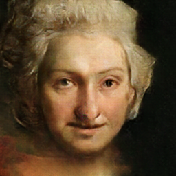 votre portrait à partir de peintures et d'intelligence artificielle  Ps810