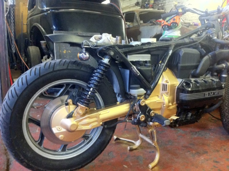 '85 K100RS cafe racer project - Peter Ovenden 310