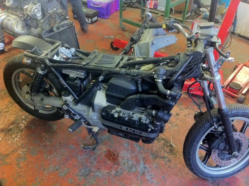 '85 K100RS cafe racer project - Peter Ovenden 410