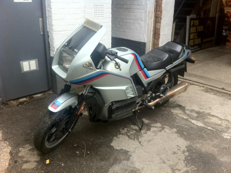 '85 K100RS cafe racer project - Peter Ovenden 811
