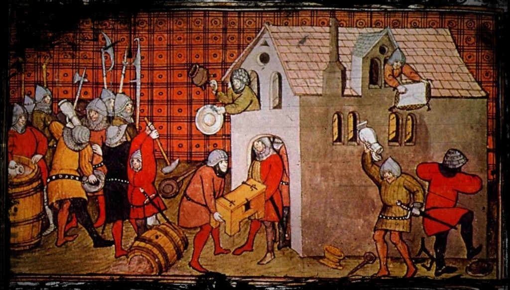 La voix des Porte-Peste, 1382