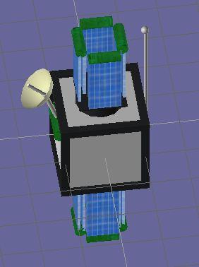 Primo satellite  Textur10