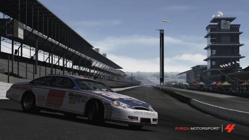 Les 50 laps d'Indy Nascar10