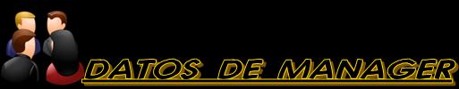 DATOS DE MANAGER