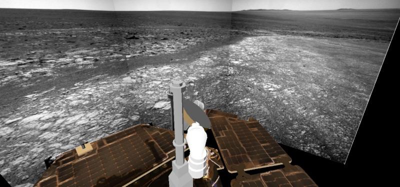 Opportunity et l'exploration du cratère Endeavour - Page 4 Image311