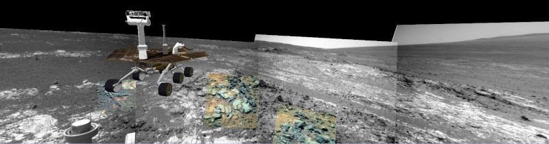 Opportunity et l'exploration du cratère Endeavour - Page 5 Image511