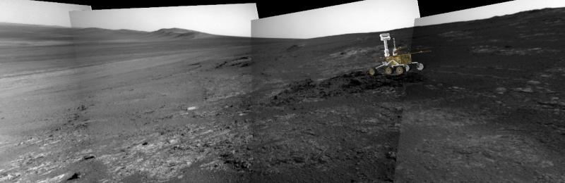 Opportunity et l'exploration du cratère Endeavour - Page 5 Image710