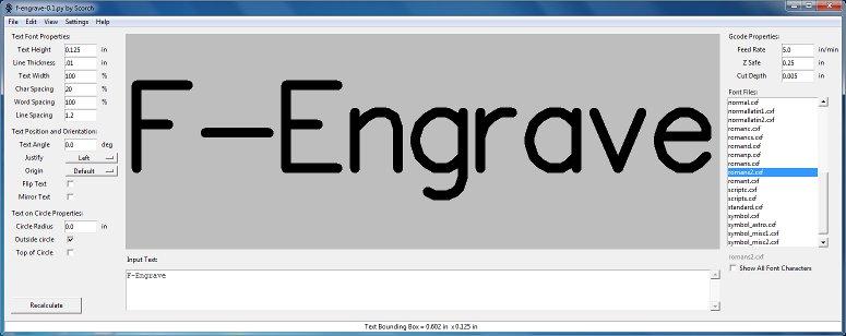 F-Engrave é um texto Header10