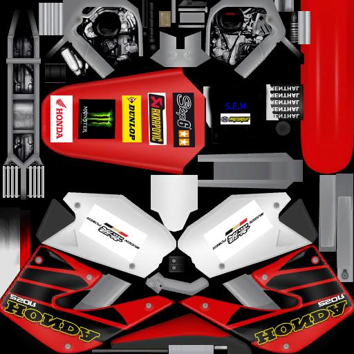 Honda CBR 600 RR et Yamaha T MAX et Yamaha Stunt et Honda TRX 450R Sanche13