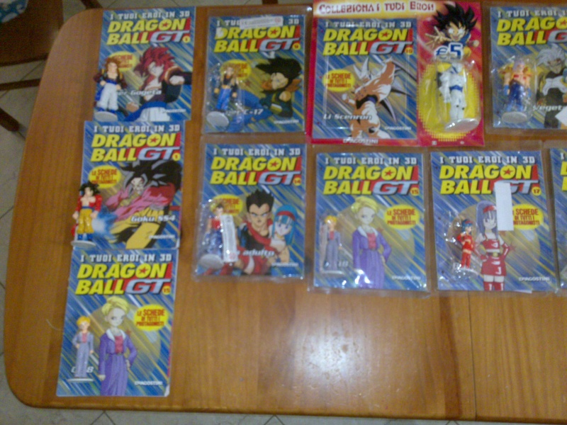 Vendo modellini Dragon ball gt 18062010