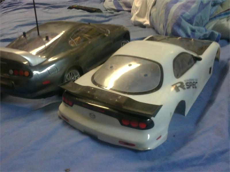 [ TAMIYA TT-01 ] Toyota supra/Mazda RX-7 toute optionnée 23062011