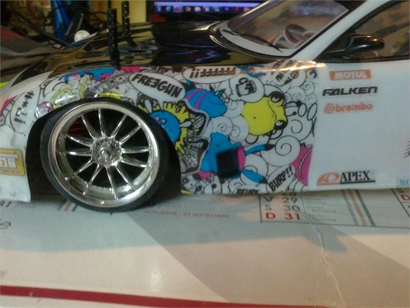[ Tamiya TT-01] Coque de RX-7 24062011