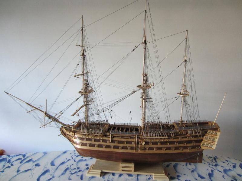 Le HMS Victory au 1/98 de mantua  Bateau24