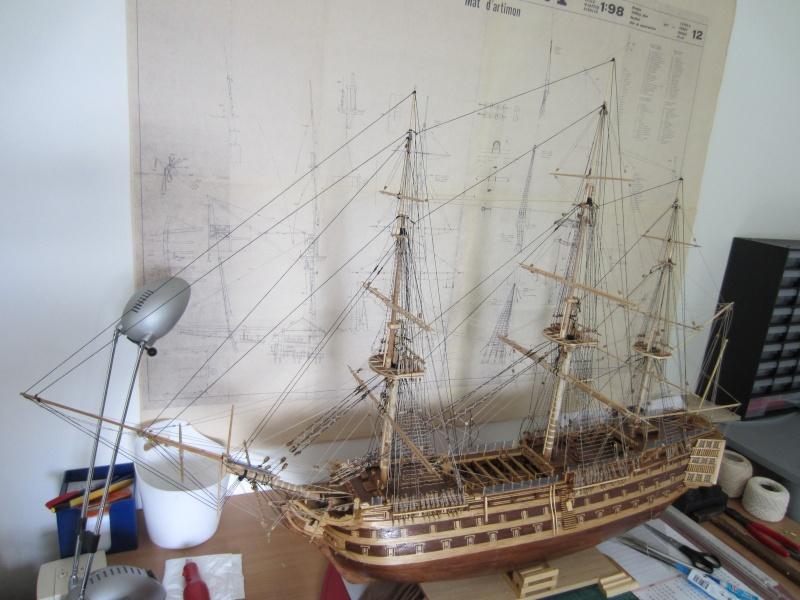 Le HMS Victory au 1/98 de mantua  Bateau32