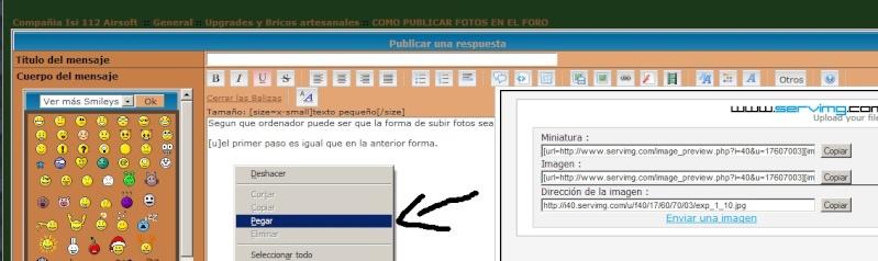 COMO PUBLICAR FOTOS EN EL FORO Exp_7_10