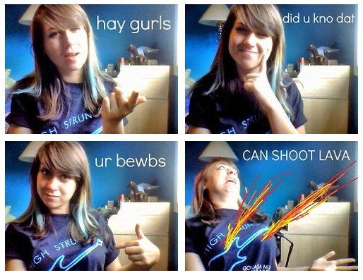 HEY GIRLS Lava10